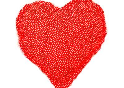 Coixí terapèutic amb forma de cor