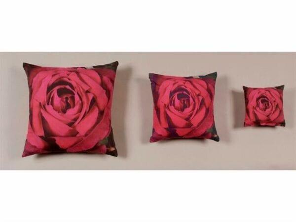 coixí de roses 30 x 30 cm